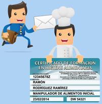 curso manipuladores de alimentos - certificado online desde 5€