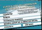 Curso manipuladores de alimentos certificado online desde 5 - Carnet de manipulador de alimentos homologado ...